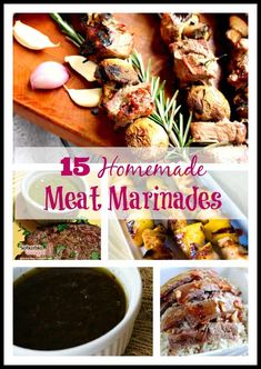 15 Homemade Meat Marinades | homemadeforelle.com