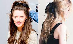 ¡Trend Alert! El lazo se convierte en el mejor accesorio para tu cabello