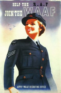 WWII WAAF recruitment poster