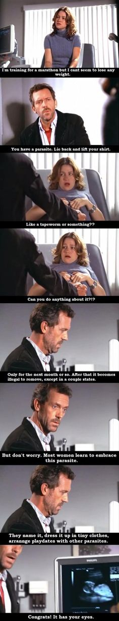 ❤️ oh, Dr. House... You're so witty!