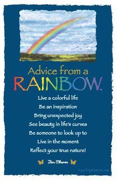 ☆ Advice from a Rainbow.。By Ilan Shamir ☆