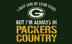 Packers girl living in a Cali world
