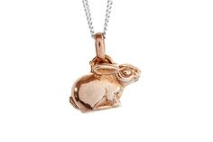 Gilded Silver Riverine Rabbit pendant Protecting the enviroment is of utmost importance to freeRange JEWELS. Gold Gilding, Decorative Bells, Purpose, Rabbit, Rose Gold, Jewels, Christmas Ornaments, Pendant, Silver