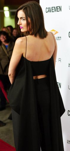 Camilla Belle in Christian Dior   Bob Hairstyle