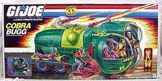 One of my favorite Cobra vehicles as a kid! Retro Toys, Vintage Toys, 1980s Toys, Power Rangers, Joe Image, Gi Joe Vehicles, Cobra Commander, Gi Joe Cobra, 80s Kids