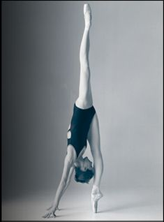 """Not only am I not this flexible anymore, but my legs are about 8"""" shorter than hers."""