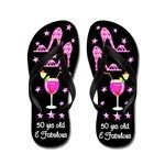 Glam 50th Diva Flip Flops http://www.cafepress.com/flipflopfrenzy/12585235 #50thbirthday #50yearsold #Happy50thbirthday #50thbirthdaygift #50thbirthdayidea #50thparty #50thflipflops #50andfabulous