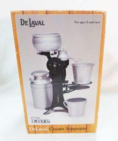 DeLaval miniature cream separator milk can buckets 1/7 Scale ERTL #ERTL