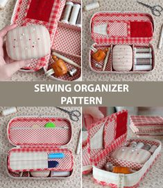 PDF Sewing Pattern, Sewing Tutorial, Travel Sewing Kit Pattern, Sewing Organizer Pattern, Sewing Tools Case Pattern Sewing pattern for a Sewing Case, Sewing Tools, Sewing Hacks, Sewing Tutorials, Sewing Crafts, Sewing Kits, Creation Couture, Sewing Accessories, Sewing Projects For Beginners
