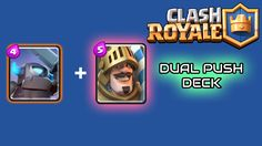 Clash Royale] Dual Push Deck Strategy Want to crush your opponent  http://ift.tt/1STR6PC