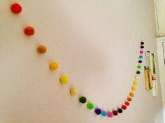 Hey, diesen tollen Etsy-Artikel fand ich bei https://www.etsy.com/de/listing/167585522/nadel-filz-rainbow-kugel-girlande