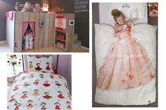 Bed en beddengoed voor prinsessen