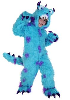 sullivan the monster costume - Sully Halloween Costumes Monsters Inc