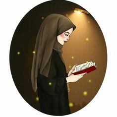 Girly Drawings, Art Drawings For Kids, Cartoon Drawings, Hijab Drawing, Islamic Cartoon, Anime Muslim, Hijab Cartoon, Cute Cartoon Girl, Girl Sketch