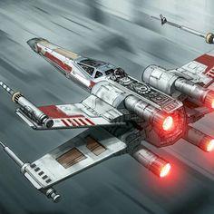 I'm going in full throttle! X-Wing #starwars
