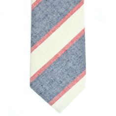 Red/White/Blue Striped Tie