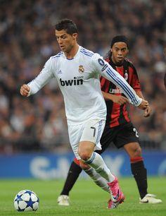 Cristiano Ronaldo y Ronaldinho