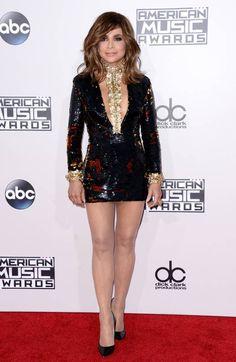 Paula Abdul Selena Gomez, Kendall, American Music Awards 2015, Female Stars, Rock Chic, Red Carpet, Georgia, Mini Skirts, Hollywood