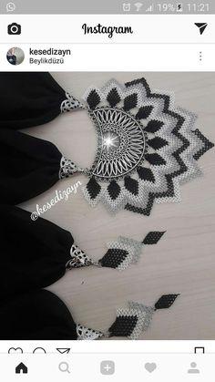 Bargello, Elsa, Crochet Necklace, Jewelry, Fashion, Moda, Jewlery, Jewerly, Fashion Styles