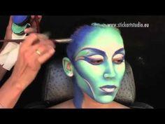Técnica Aquacolor con Corinne Perez, directora de Stick Art Studio, escuela de maquillaje artístico y profesional