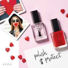 Avon True Color Pro+ Nail Enamel NEW shades! Avon True Color Pro+ Nail Enamel delivers professional results right at home with a high-shine mani that resists dings, bangs and nicks. Avon Nail Polish, Avon Nails, Base Coat, Top Coat, Gel Manicure, Pedicure, True Colors, Vivid Colors, Gel Nails At Home