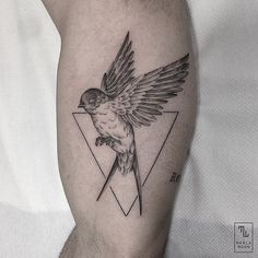 Gracias Isidro! #linework #swallow by marla_moon