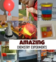 AMAZING Chemistry Experiments - Science Sparks