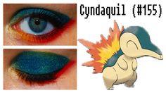 Cyndaquil Pokemon Eye Makeup