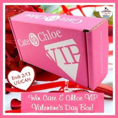 I want to #Win @cateandchloe VIP Jewelry Box #BeautyBash2015 Giveaway! @pamelamaynard WONDERFUL GIVEWAY! ENTR HERE http://www.powered-by-mom.com/crate-chloe-vip-valentines-day-giveaway For Your Chance To Win! YOU KNOW THAT I MOST DEFINITELY ENTERED THIS GIVEAWAY!!!!!! I LOVE IT!!!!!!!!!!!! Thanks, Michele :)