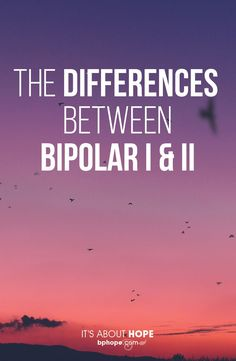 You can tell the difference between bipolar 1 and 2 by looking at mania––bipolar I has hypomania & mania, while bipolar II just has hypomania. Bipolar disorder has two main diagnoses: Bipolar 1 and bipolar Both have mania and depression. Bipolar Disorder Facts, Bipolar Depression Disorder, Living With Bipolar Disorder, Depression Symptoms, Fighting Depression, Anxiety Disorder, Bipolar Type 1, Mania Bipolar, Inspirational Quotes