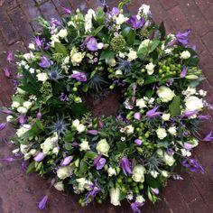 #Rouwkrans #afscheidsbloemen #BLOM #BLoemwerkOpMaat #Wageningen #Bennekom #Renkum
