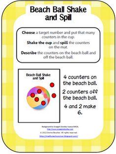 Math Coach's Corner: Beach Ball Shake and Spill