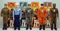 1970's GI Joe's, I had some like these growing up and I most definitely need to buy them again. Best toys ever