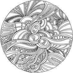 Zentangle design patterns color, mandala coloring pages и adult coloring pa Adult Coloring Pages, Mandala Coloring Pages, Colouring Pages, Printable Coloring Pages, Coloring Books, Mandalas Drawing, Mandala Pattern, Zentangle Patterns