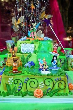 Tinkerbell & Fairies Birthday Party Ideas | Photo 22 of 42 | Catch My Party