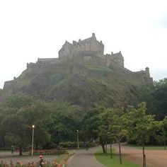 Photo taken at Edinburgh by Anna S. on 8/12/2012