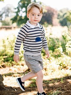 Prince George Is 3! See the Future King's Too-Cute New Birthday Portraits| The British Royals, The Royals, Prince George