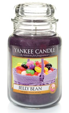 Jelly bean - Bougie parfumée grande jarre - Yankee Candle Paques