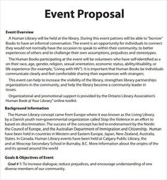 Attractive How To Write Event Proposal Pdf   Best Opinion With How To Write An Event Proposal