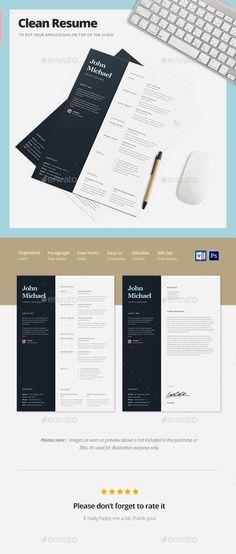 Creative Resume Template PSD. Download here: http://graphicriver.net/item/creative-resume-template/15088834?ref=ksioks