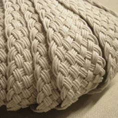 Plaited Cotton Strapping