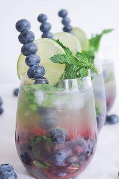 Blueberry Mojito Royale | Domesticate Me