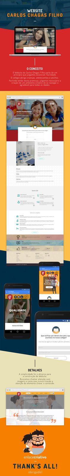 Portfólio Website - Enlace Criativo