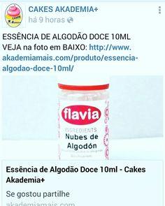 ESSÊNCIA DE ALGODÃO DOCE 10ML VEJA na foto em BAIXO: http://www.akademiamais.com/produto/essencia-algodao-doce-10ml/