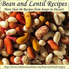 Hearty bean recipes