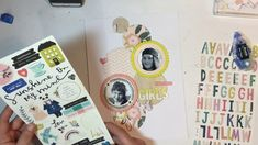 Kitaholic Kits - Scrapbook Layout with Deb September, Layout, Scrapbook, Kit, Page Layout, Scrapbooking, Guest Books, Scrapbooks