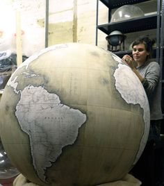 The Globemaker is a mini documentary about Peter Bellerby and his London-based company that manufactures fine handcrafted globes, Bellerby ...