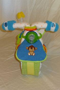 Diaper Motorcycle Roadster Custom Made to by SweetDiaperDesigns