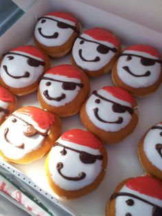 Krispy kreme pirate party donuts