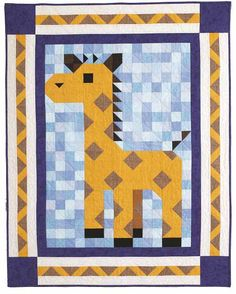 Lanky Patch Quilt Kit